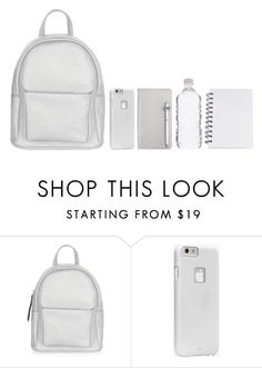 """-"" by emilypondng ❤ liked on Polyvore featuring New Look, Case-Mate, ICE London, backpack and inmybackpack"