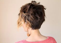 Curling a Long Pixie tutorial
