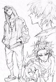 Ideas Design Character Girl Pose Reference For 2019 Manga Drawing, Manga Art, Anime Art, Character Design References, Character Art, Art Sketches, Art Drawings, Cartoon Drawings, Arte Sketchbook