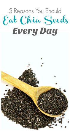 Want more healthy and totally natural ways to slow down aging, reverse, diabetes, or fight cancer? These 5 reasons you should eat chia seeds every day will help you do just that.