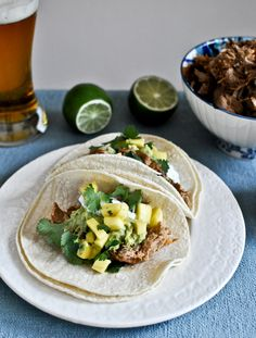 crockpot beer carnitas tacos...are you kidding me!  another one I can't wait to try!