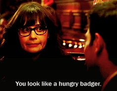 Zooey - New Girl. SOmetimes, I feel like this could be me. I can be very awkward at times.