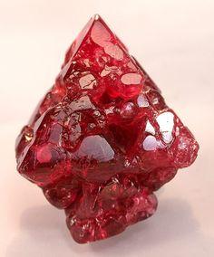 "Spinel, MgAl2O4, ""hoppered"" crystals / Luc Yen, Vietnam"