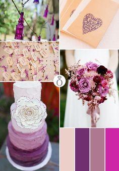 Color Palettes: Vintage Purple {via Project Wedding}