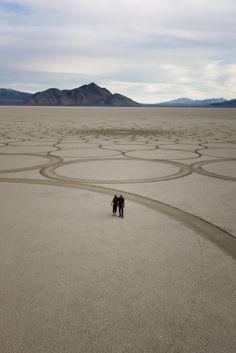 Jim Denevan....sand art