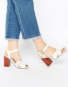 Discover the latest fashion & trends in menswear & womenswear at ASOS. Shop our collection of clothes, accessories, beauty & Asos, Leather Sandals, Heeled Sandals, Shoe Boots, Shoes Heels, Crazy Shoes, Fashion Watches, Open Toe, Fashion Beauty