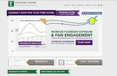 Cómo conocer el EdgeRank de tu fan page de Facebook