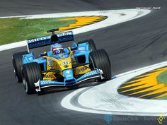 Mild Seven Renault F1/Fernando Alonso, Renault R23, Imola 2003 - one of the best F1 cars, technically and aesthetically of all time