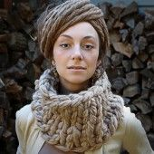 Kit - Superchunk Instant Knitted Cowl - Feza 3N