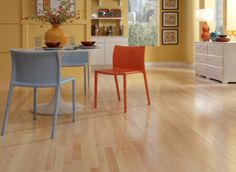 """3/4"""" x 3-1/4"""" Select Maple $5.39 sq ft. Engineered. Like this thicker 3/4"""" flooring. Use downstairs."""