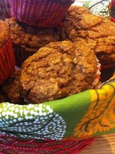 Pumpkin spelt muffins