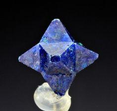 Six pointed cumengeite crystal forms naturally! Amazing! www.crystalrockstar.com