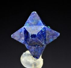 Six pointed cumengeite crystal forms naturally! Amazing! www.crystalrockstar.com