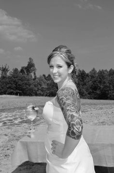 yep tattoed bride