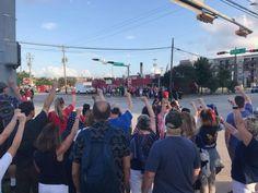 Over 1000 union educators protest Houston Detention Center Parts Of A Wave, Family Separation, Trump Protest, Citizenship, Bernie Sanders, Children And Family, Houston, Education, Concert