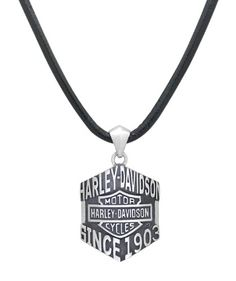 Harley-Davidson .925 Silver Class Of It's Own Collection Necklace | http://www.bikeraa.com
