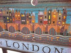 London photo of the day: when you are tiled of London…