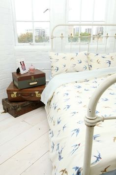 Emma Bridgewater Birds Double Duvet Cover Set at Urban Outfitters