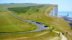 #activity #adventure #beach #cliffs #coast #coastline #countryside #daylight #field #fun #grass #green #hiking #hill #holiday #landscape #leisure #lifestyle #lighthouse #nature #ocean #outdoors #peo
