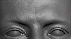 the Zbrush sculpt and skin close up render . in additon to the sculpted details. the Zbrush sculpt Eye Anatomy, Anatomy Drawing, Human Skin Texture, Face Topology, Zbrush Hair, Human Anatomy For Artists, Anatomy Sculpture, Close Up Faces, Zbrush Tutorial