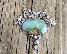 Yellow Quartz and Fine Silver Necklace. Jewelry Crafts, Jewelry Art, Handmade Jewelry, Bold Jewelry, Jewelry Ideas, Metal Clay Jewelry, Spoon Jewelry, Wire Jewelry Patterns, Urban Jewelry