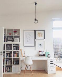 Handgefertigte Design-Vase Omaggio medium Home Office Ideas DesignVase Handgefertigte medium Omaggio Home Office Design, Home Office Decor, Home Decor, Study Room Decor, Bedroom Decor, My New Room, My Room, Design Vase, Office Setup
