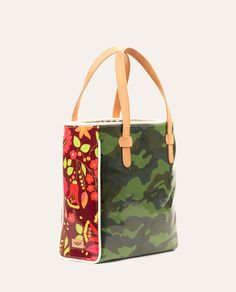 The Consuela Camo Legacy Classic Tote is just the right size for your everyday needs, whether that's work or play! The spacious interior comfortably fits your laptop or tablet, and features a roomy side pocket for keeping your cell, keys, and other essentials organized and close at hand.
