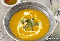 Őszi sárgarépa-krémleves