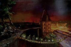Sans titre-Oil on panel-145x90cm-Gaspard Schlum 2013