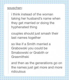 Yes! This should be a thing!!!