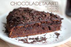 Recept: Chocoladetaart! Glutenvrij, Suikervrij en Vegan(istisch) Deze moet ik proberen!