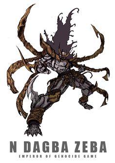 ン・ダグバ・ゼバEMPEROR OF GENOCIDE GAME by zakkizaki Alien Concept Art, Creature Concept Art, Creature Design, Character Concept, Character Art, Fighting Robots, Kamen Rider Series, Suit Of Armor, Sci Fi Characters