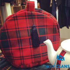 Made here at at ScotClans.  A fully lined Tea Cosy made from 100% Wool Tartan woven in the Scottish Borders.  We can make the tea cosy in any of the mill's stock tartans.. Free worldwide shipping available