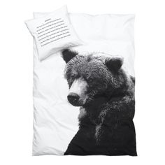 Housse de couette ours 140x200 - Fab (77€)