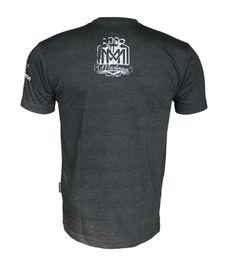 Koszulka 'Logo' grafitowa - tył ---> Streetwear shop - odzież uliczna, kibicowska i patriotyczna / Przepnij pina!