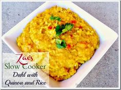 This is perfect for when you have to run to soccer to ballet.Zac's Slow Cooker Dahl with Quinoa and Rice! #quinoa #slowcooker #rice #healthy (scheduled via http://www.tailwindapp.com?utm_source=pinterest&utm_medium=twpin&utm_content=post2302675&utm_campaign=scheduler_attribution)