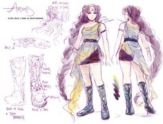 Outfit Sketch- Artemis by zeldacw on DeviantArt Greek Goddess Art, Artemis Goddess, Greek Art, Apollo And Artemis, Hunter Of Artemis, Greek Mythology Gods, Greek Gods And Goddesses, Greek Drawing, Goddess Of The Hearth