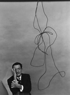 Salvador Dali, New York, NY, 1951 by Arnold Newman