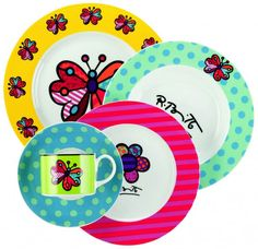 Romero Britto´s dishes