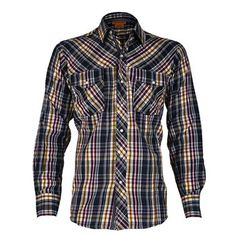 Ariat Men's Marc Plaid Western Shirt