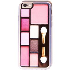 Compact iPhone 6 Case $32.00 ❤ liked on Polyvore featuring accessories, tech accessories, phone cases, phone, makeup and cases