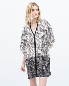 ZARA - WOMAN - PRINTED TUNIC