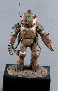 "Maschinen Krieger ZbV3000 : Armored Fighting Suit Custom Type ARCHELON ""Eyepatch"""