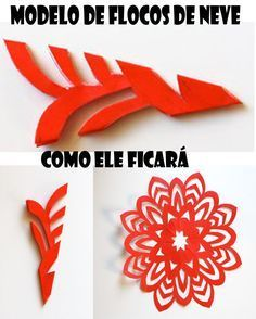 Best 12 6 beautiest patterns for cutting out Christmas snowflakes — save and share with friends Paper Snowflake Template, Paper Snowflake Patterns, Paper Cutting Patterns, Paper Snowflakes, How To Make Snowflakes, Christmas Snowflakes, Origami And Kirigami, Paper Crafts Origami, New Year's Crafts