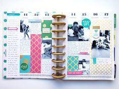 last week in January in The Happy Planner™ of mambi Design Team member Theresa Doan   me & my BIG ideas
