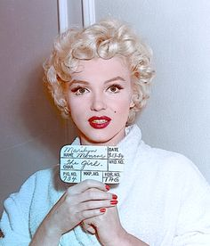 Marilyn Monroe in a hair test for The Seven Year Itch, 1954. Description from picslist.com. I searched for this on bing.com/images