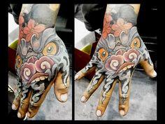 Artist Ching at East Tattoo Taiwan