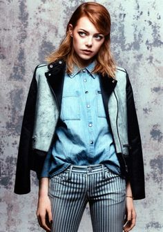 Emma Stone for Vogue May 2014