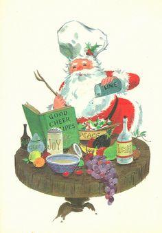 Chef Santa Claus | von contrarymary