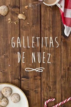 Galletitas de nuez - Euge de la Peña Blog